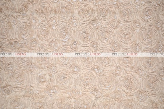 Rosette Chiffon - Fabric by the yard - Champagne