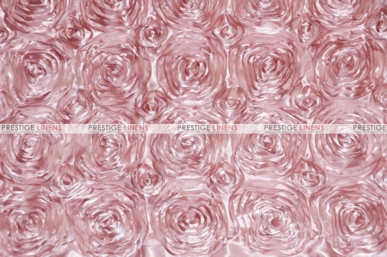 Rosette Satin - Fabric by the yard - Blush