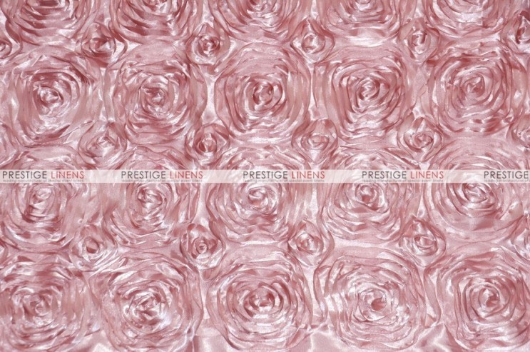 Rosette Satin - Fabric by the yard - Blush