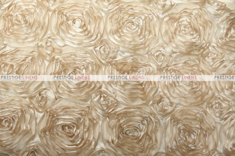 Rosette Satin Fabric By The Yard Champagne Prestige