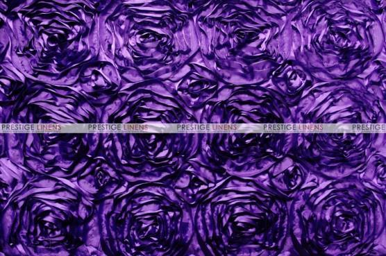 Rosette Satin - Fabric by the yard - Lt Purple