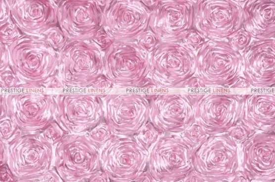 Rosette Satin - Fabric by the yard - Pink