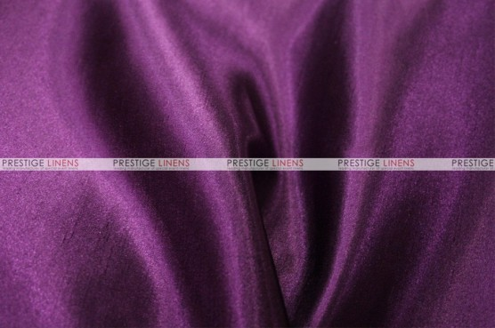 Shantung Satin - Fabric by the yard - 1033 Lt Plum