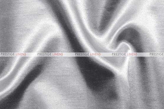 Shantung Satin - Fabric by the yard - 1126 Silver