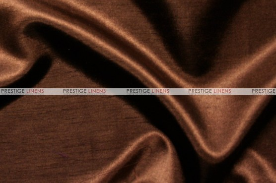 Shantung Satin - Fabric by the yard - 333 Brown