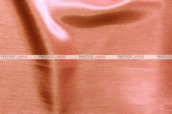 Shantung Satin - Fabric by the yard - 432 Coral