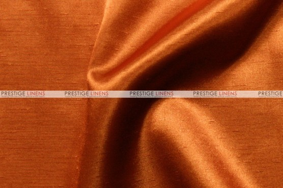 Shantung Satin - Fabric by the yard - 447 Dk Orange
