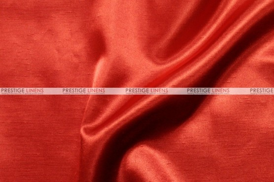 Shantung Satin - Fabric by the yard - 626 Red