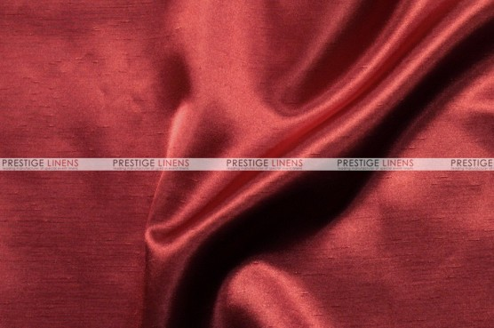 Shantung Satin - Fabric by the yard - 627 Cranberry