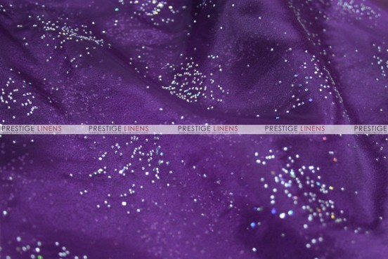 Sparkle Organza - Fabric by the yard - 1034 Plum