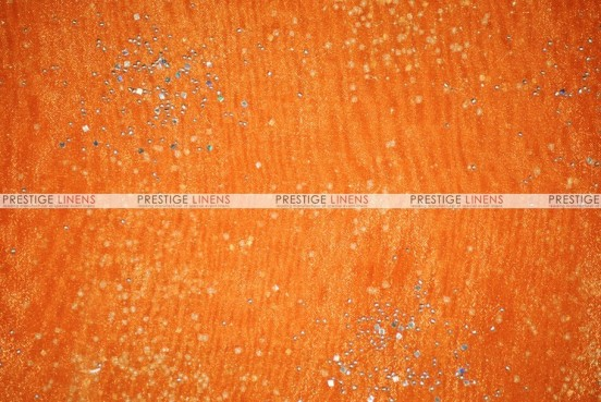 Sparkle Organza - Fabric by the yard - 431 Orange