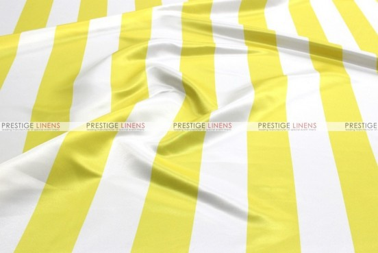 Striped Print Lamour - Fabric by the yard - 3.5 Inch - Yellow
