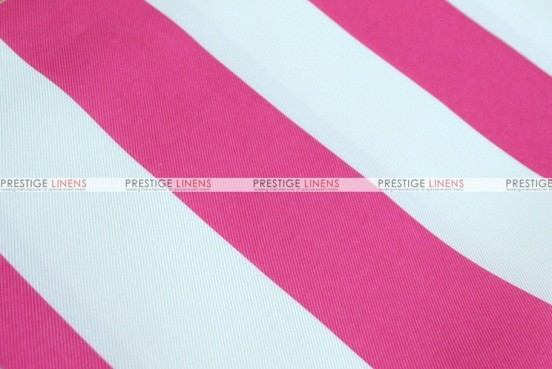 Striped Print Poly - Fabric by the yard - Fuchsia