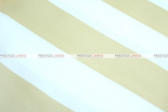 Striped Print Poly - Fabric by the yard - Khaki