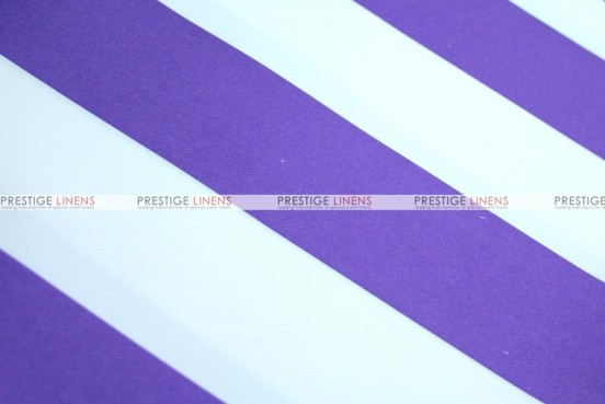 Striped Print Poly - Fabric by the yard - Purple