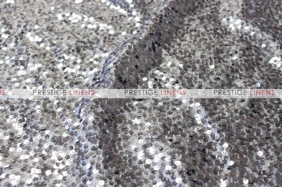 Taffeta Sequins Embroidery - Fabric by the yard - Charcoal