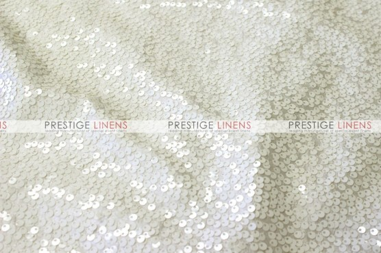 Taffeta Sequins Embroidery - Fabric by the yard - Ivory