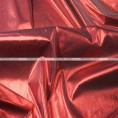 Tissue Lame - Fabric by the yard - Red