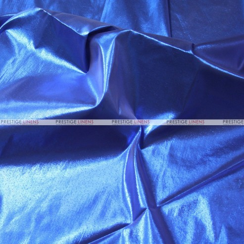 Tissue Lame - Fabric by the yard - Royal