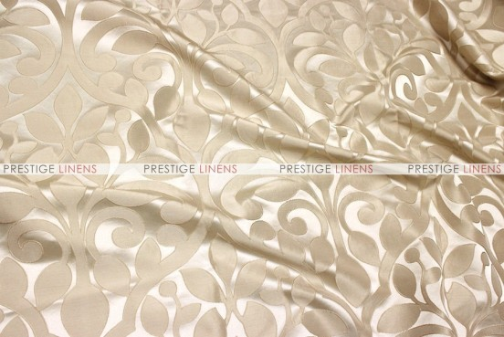 Tuscany Jacquard - Fabric by the yard - Beige