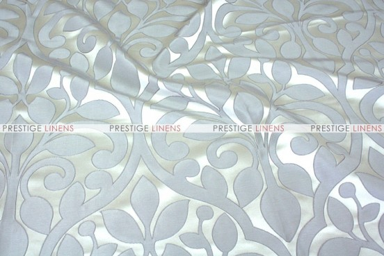 Tuscany Jacquard - Fabric by the yard - Silver
