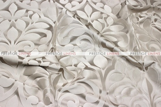 Tuscany Jacquard - Fabric by the yard - Taupe