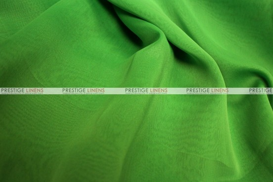 Two Tone Chiffon - Fabric by the yard - Apple Green
