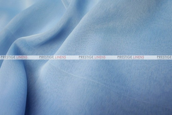 Two Tone Chiffon - Fabric by the yard - Baby Blue