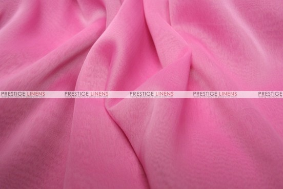 Two Tone Chiffon - Fabric by the yard - Bubble Gum