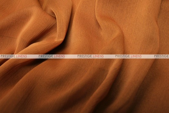 Two Tone Chiffon - Fabric by the yard - Cinnamon
