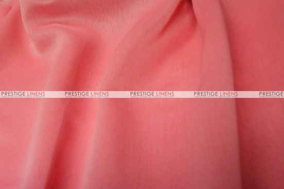 Two Tone Chiffon - Fabric by the yard - Coral