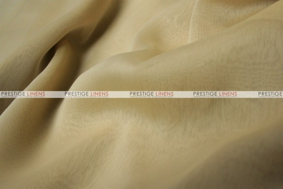 Two Tone Chiffon - Fabric by the yard - Cream