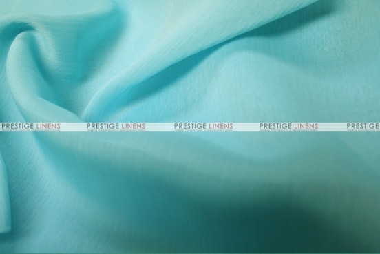 Two Tone Chiffon - Fabric by the yard - Dk Aqua