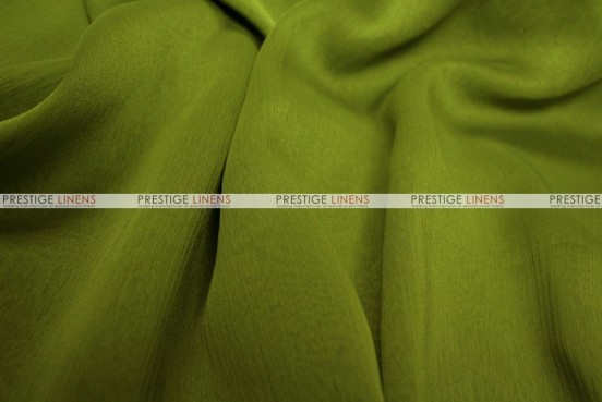 Two Tone Chiffon - Fabric by the yard - Dk Lime