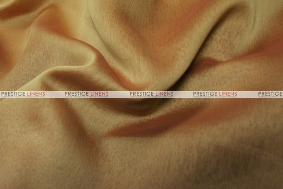Two Tone Chiffon - Fabric by the yard - Gold