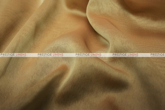 Two Tone Chiffon - Fabric by the yard - Mocha/Gold