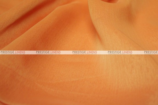 Two Tone Chiffon - Fabric by the yard - Pumpkin