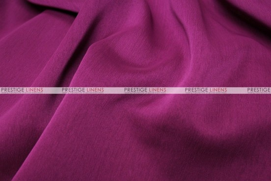 Two Tone Chiffon - Fabric by the yard - Raspberry