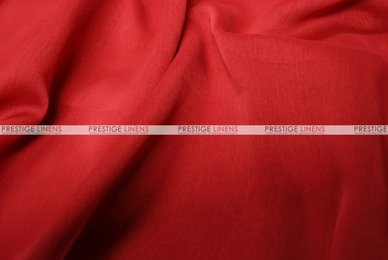 Two Tone Chiffon - Fabric by the yard - Red