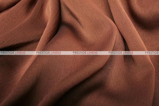 Two Tone Chiffon - Fabric by the yard - Rust