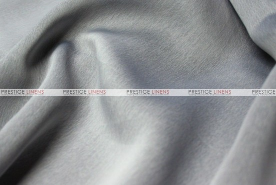 Two Tone Chiffon - Fabric by the yard - Silver/Black