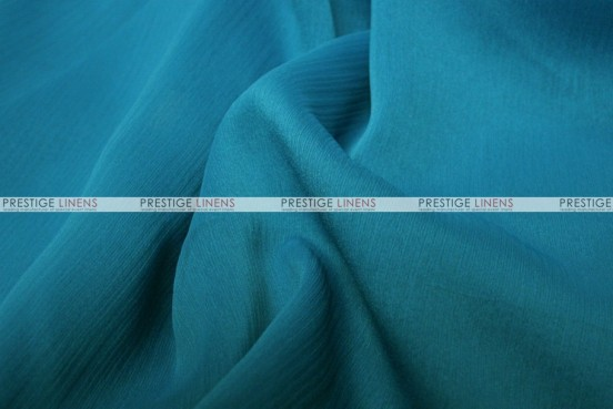 Two Tone Chiffon - Fabric by the yard - Teal