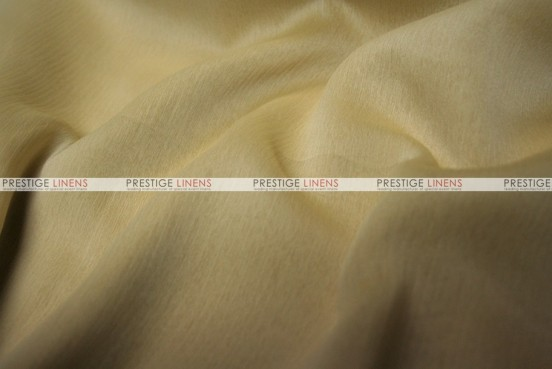 Two Tone Chiffon - Fabric by the yard - White/Gold