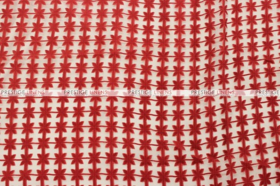 Valencia - Fabric by the yard - Red