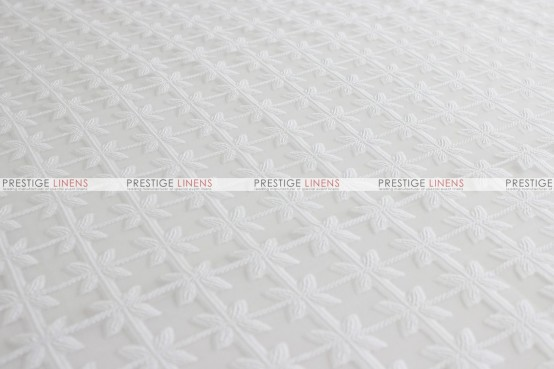 Valencia - Fabric by the yard - White