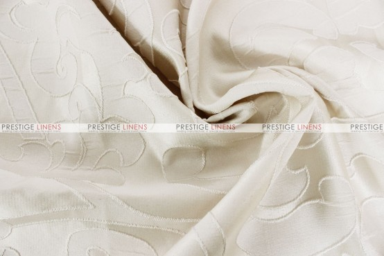 Victorian Damask - Fabric by the yard - Ivory