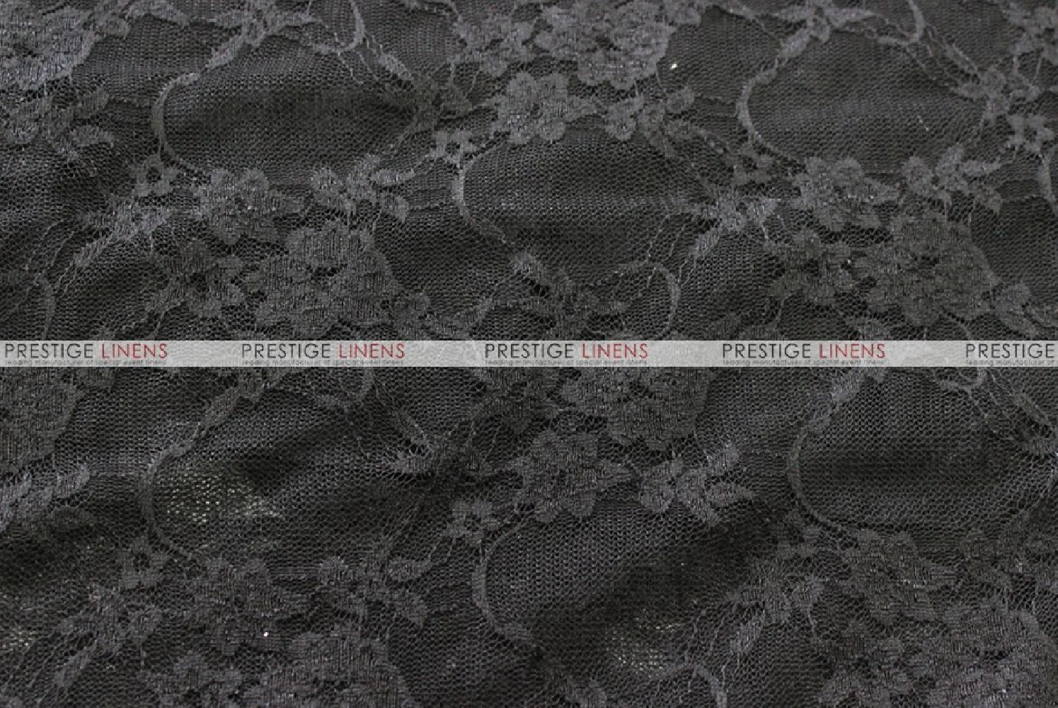Victorian Stretch Lace Fabric By The Yard Black