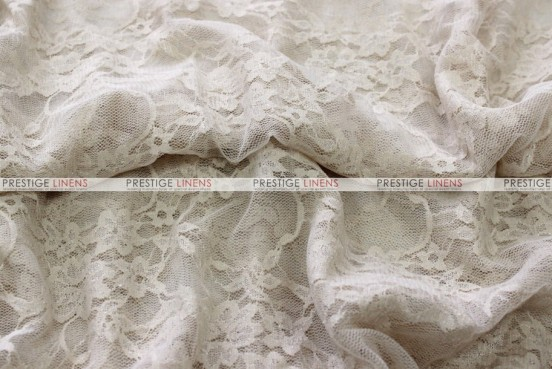 Victorian Stretch Lace - Fabric by the yard - Champagne