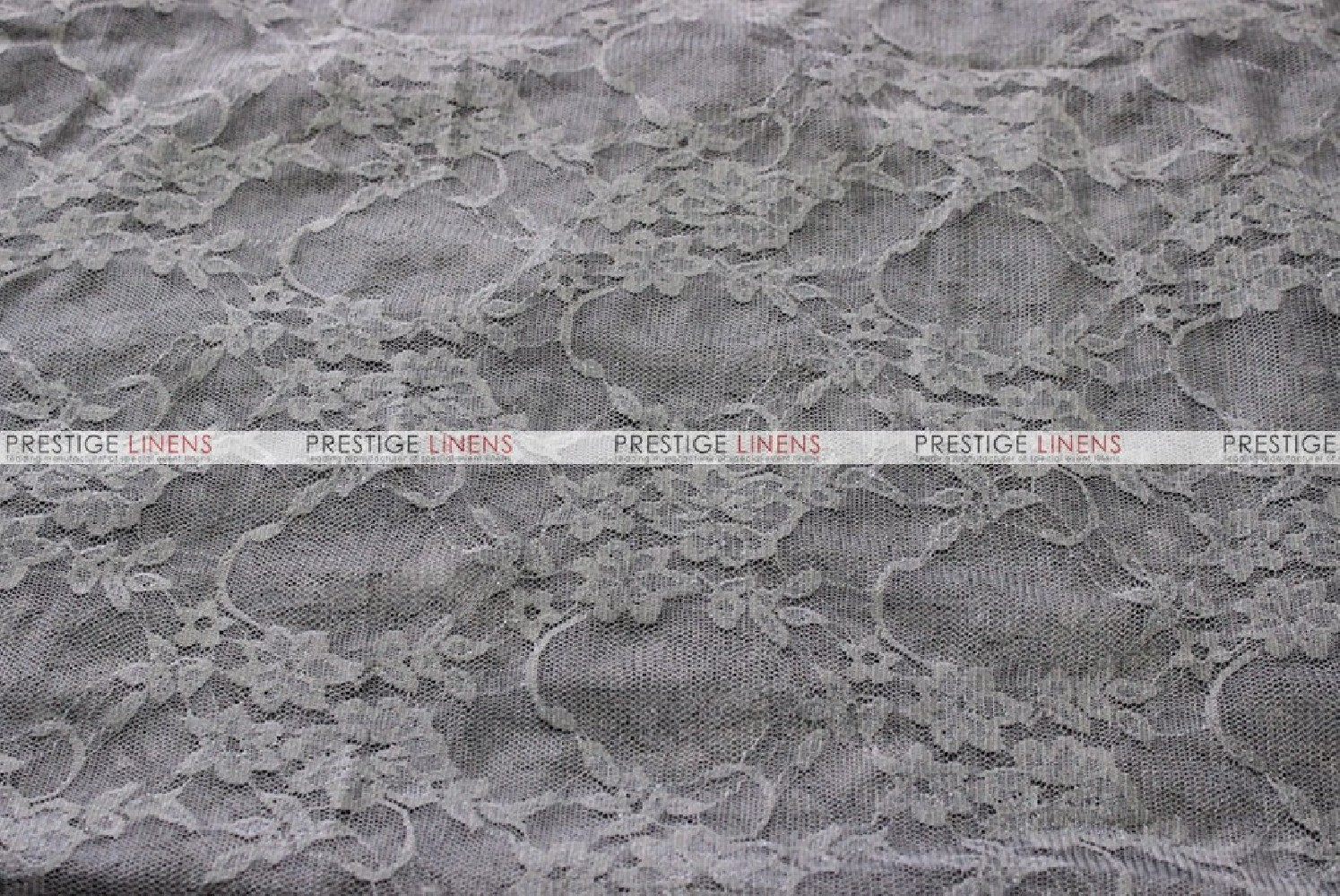 Victorian Stretch Lace Fabric By The Yard Charcoal