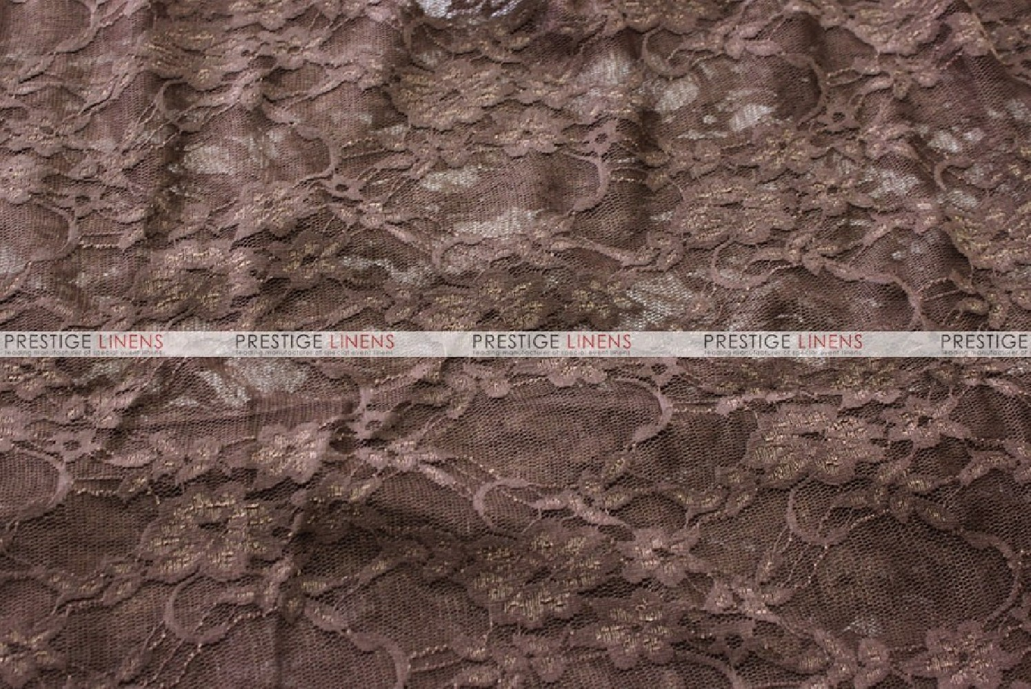 Victorian Stretch Lace Fabric By The Yard Chocolate